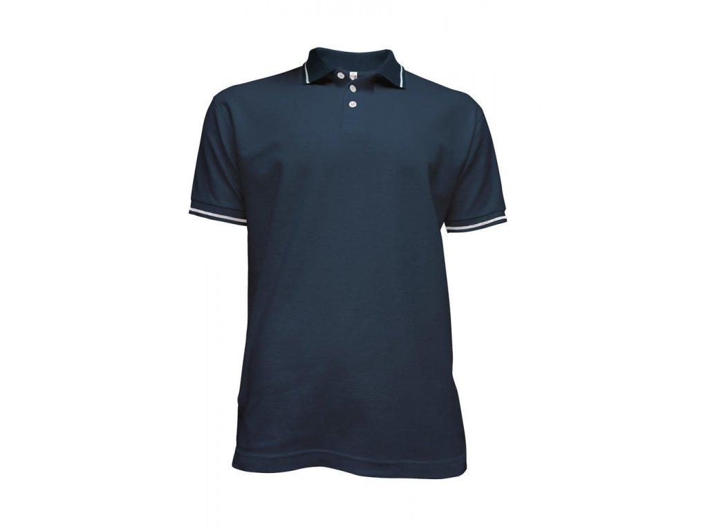 Tričko pánské Polo modré
