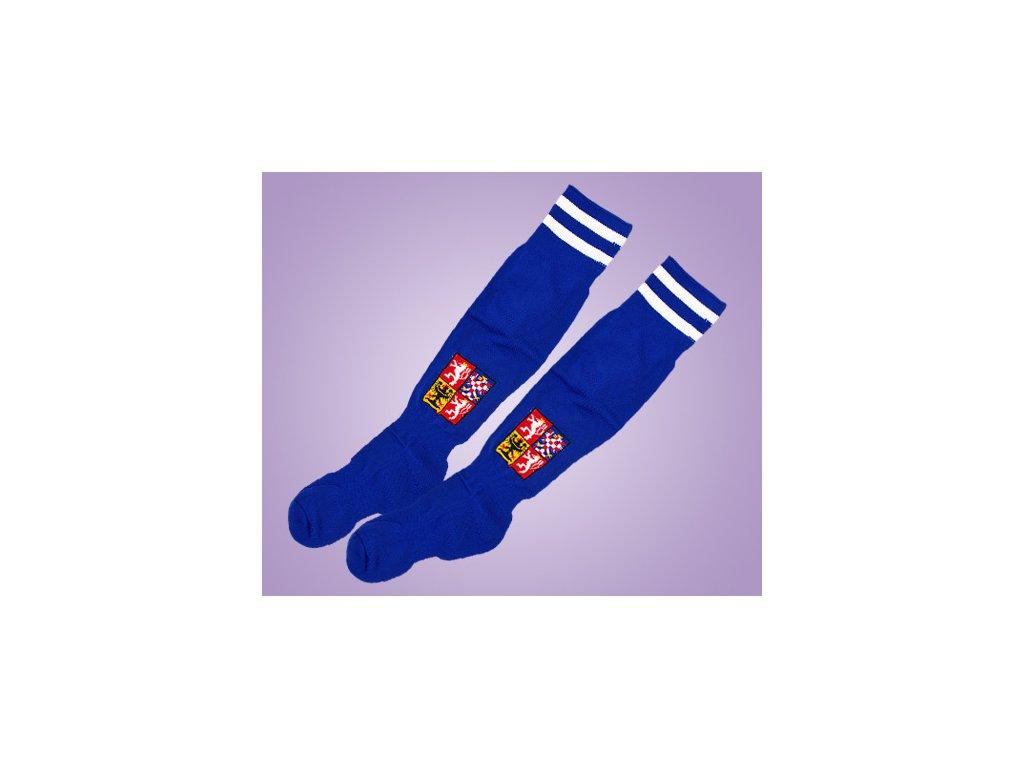 ponožky ČR modré