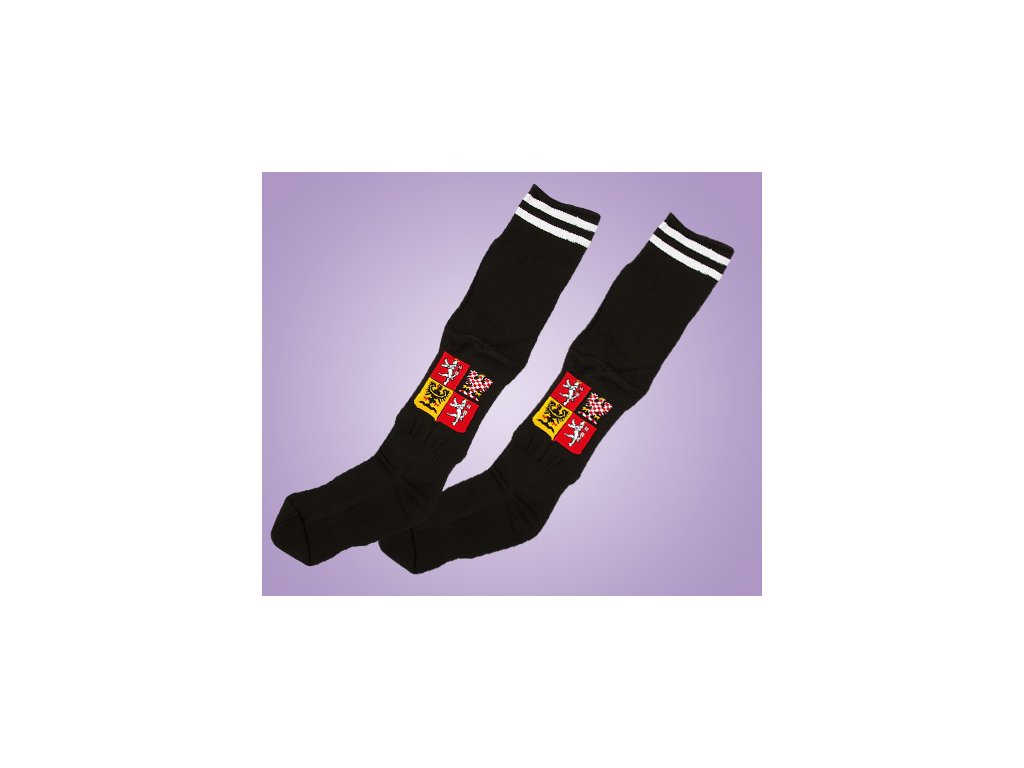 ponožky ČR černé