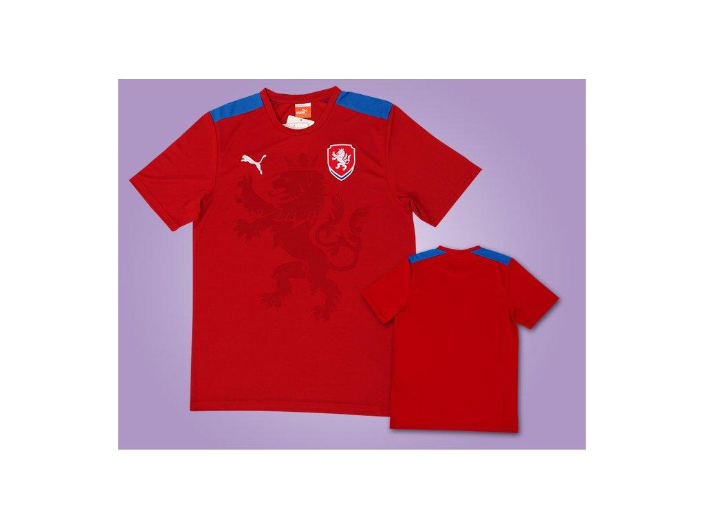 fotbalový dres ČR červený