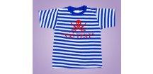 námořnické tričko pirát s textem