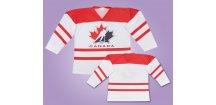 Hokejový dres CANADA bíly
