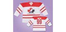 Hokejový dres Kanada bílý s vlastním jménem