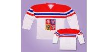 Hokejový dres ČR 2017 bílý