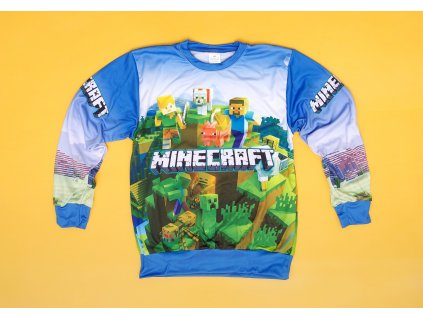Mikina Minecraft