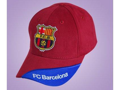 kšiltovka Barcelona červená