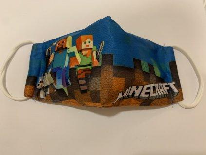 rouška Minecraft