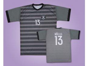 Fotbalový dres Německo Müller