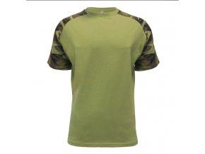 Tričko maskáč zelené