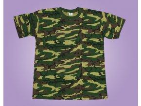 maskáč tričko