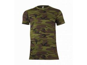 tričko military pánské 2