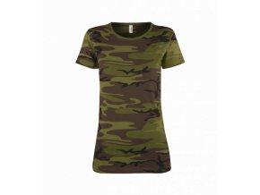 tričko military dámské