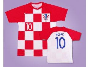 Dres fotbalový Modrič 10 Chorvatsko 2019
