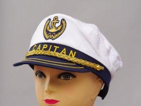 námořnická čepice Kapitán dospělá