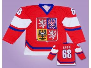 hokejový dres ČR JÁGR