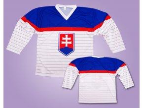 Hokejový dres Slovakia bílý