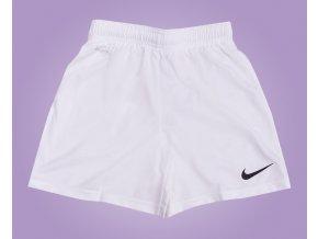 SLEVA:Fotbalové trenky Nike bílé dospělé