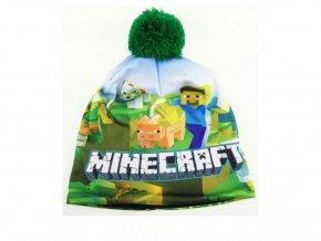 Čepice Minecraft