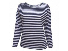 Tričko námořnické dámské dlouhý rukáv