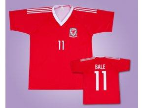 Fotbalový dres BALE Wales 2017