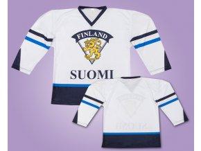 Hokejový dres Finsko bílý 2016