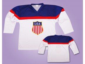 Hokejový dres USA olympúiáda