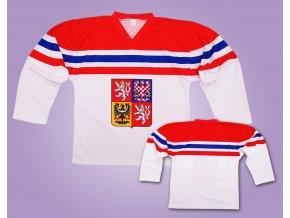 hokejový dres čr 2018