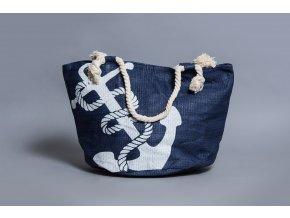 Taška námořnická kotva modrá