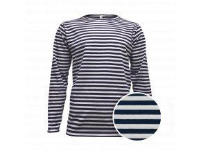 Tričko námořnické pánské dlouhý rukáv