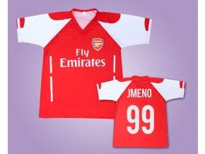 Fotbalový dres Arsenal se jménem