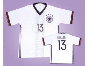 SLEVA:Fotbal. dres Müller 13 Německo