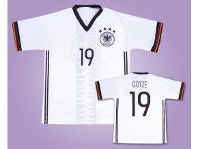 Fotbalový dres Götze Německo
