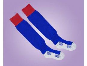 ponožky modro červené