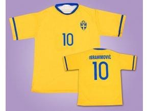 Fotbalový dres Švédsko Ibrahimovič 2017
