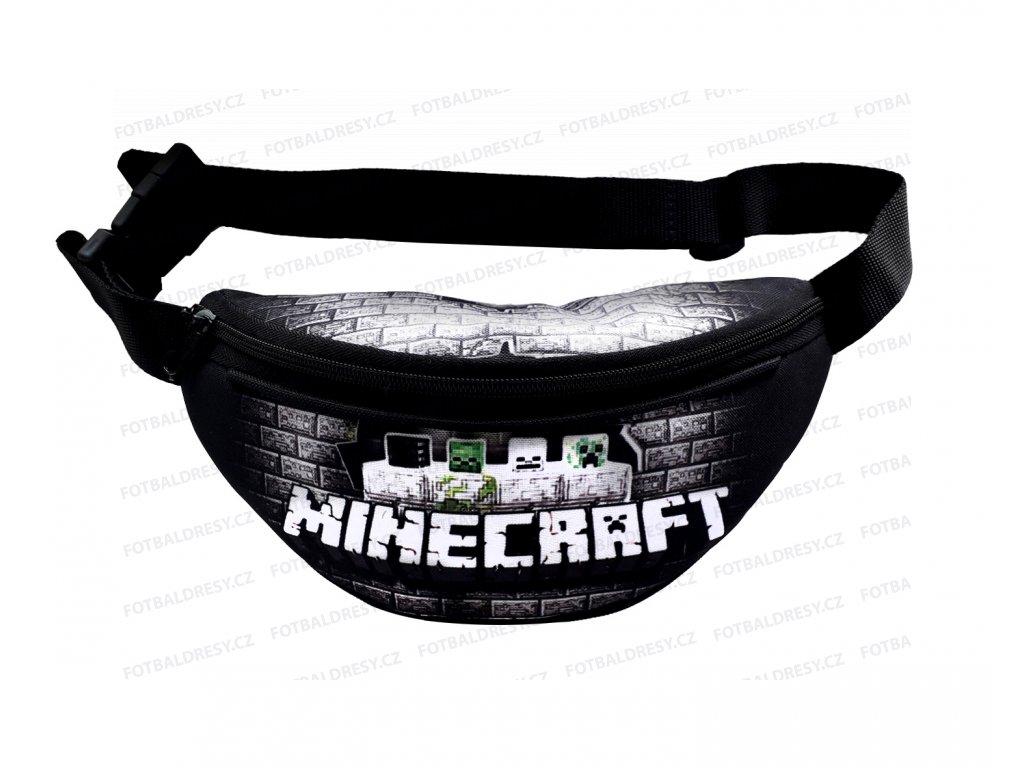 Ledvinka Minecraft černá