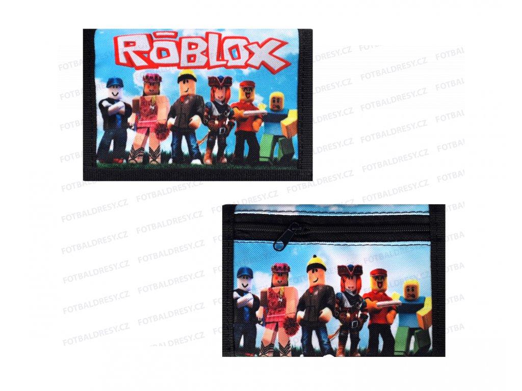 Peněženka Roblox postavičky