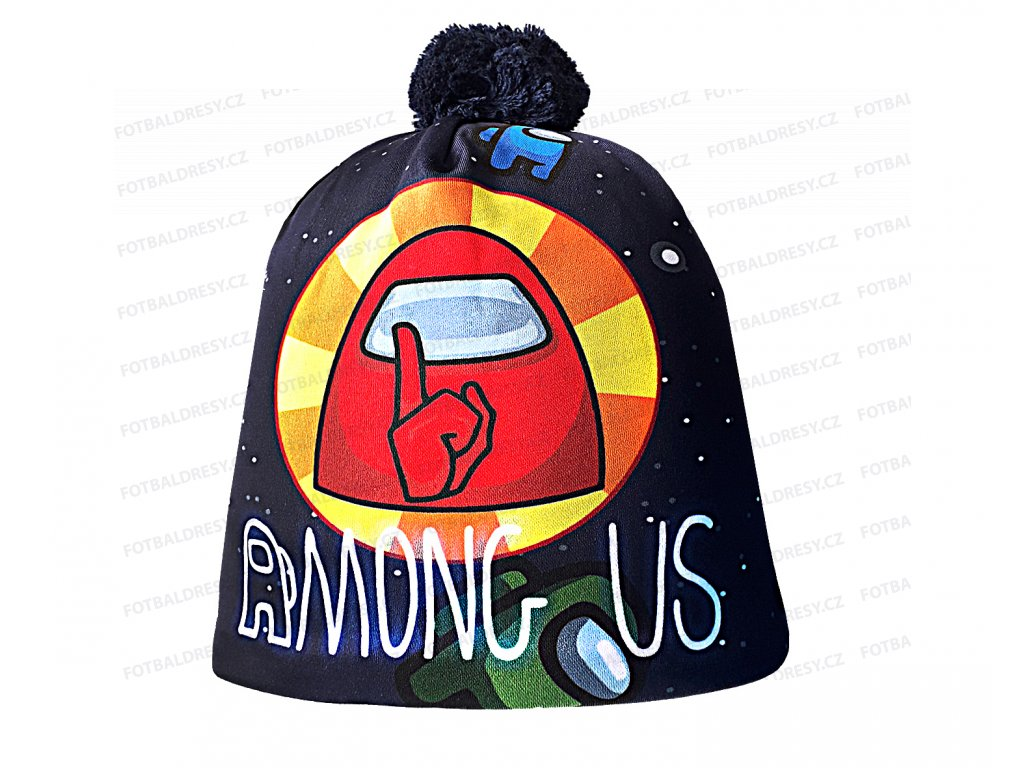 Zimní čepice Among Us