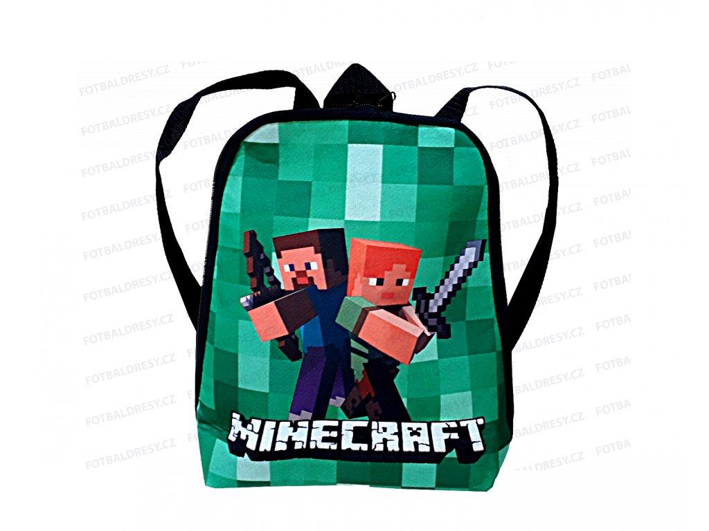 Batoh Minecraft pro nejmenší