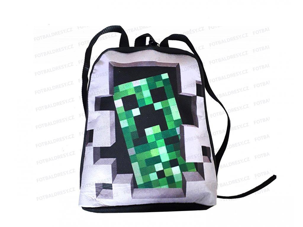 Batoh Minecraft pro nejmenší kostka