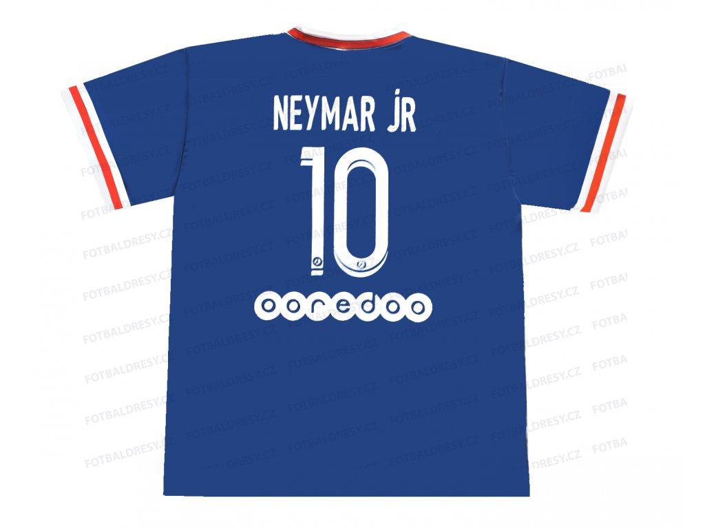 Fotbalový dres Neymar Jr PSG  2021/2022