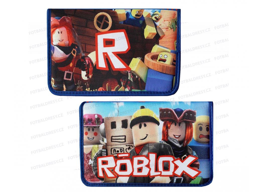 Penál školní 1-patrový 2 chlopně ROBLOX  R