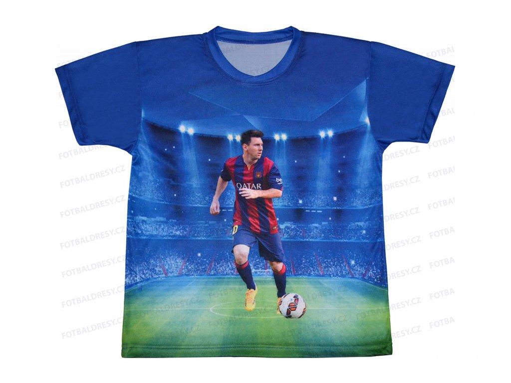 Fotbalový dres tričko Messi