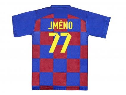 Fotbalový dres Barcelona vlastní jméno