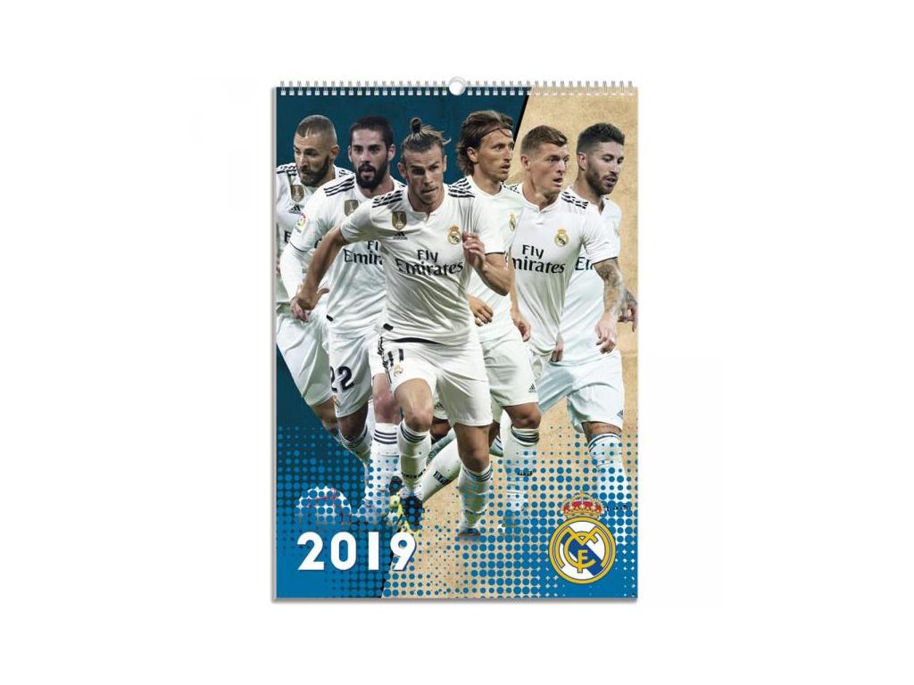 Kalendář Real Madrid 2019 A3