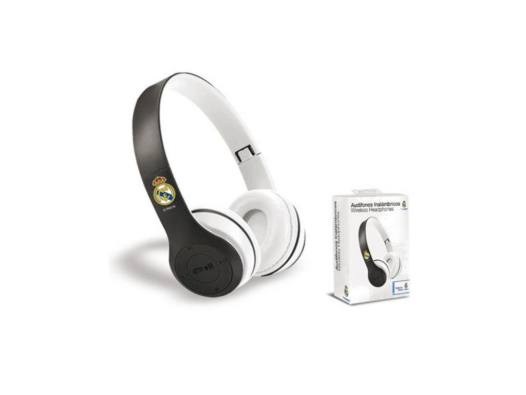 Luxusní sluchátka FC Real Madrid bezdrátová