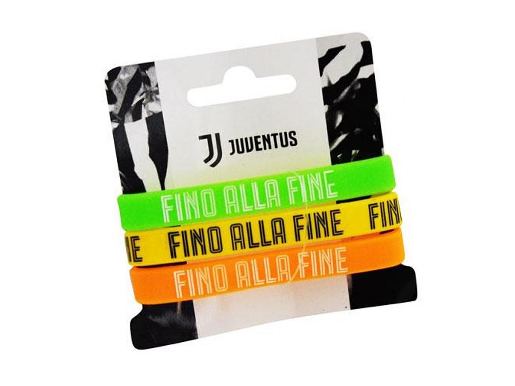 Sada náramků Juventus Turín color