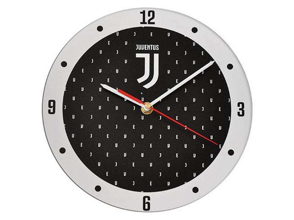 Nástěnné hodiny Juventus Turín black