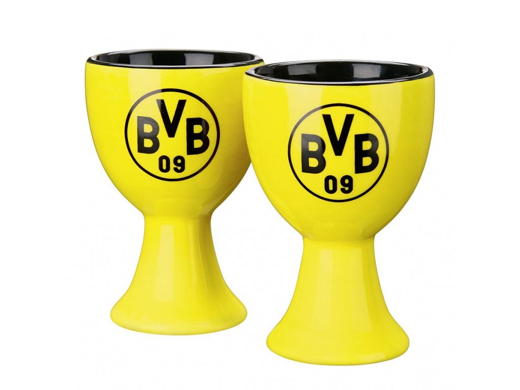 Stojany na vajíčka Borussia Dortmund 2ks