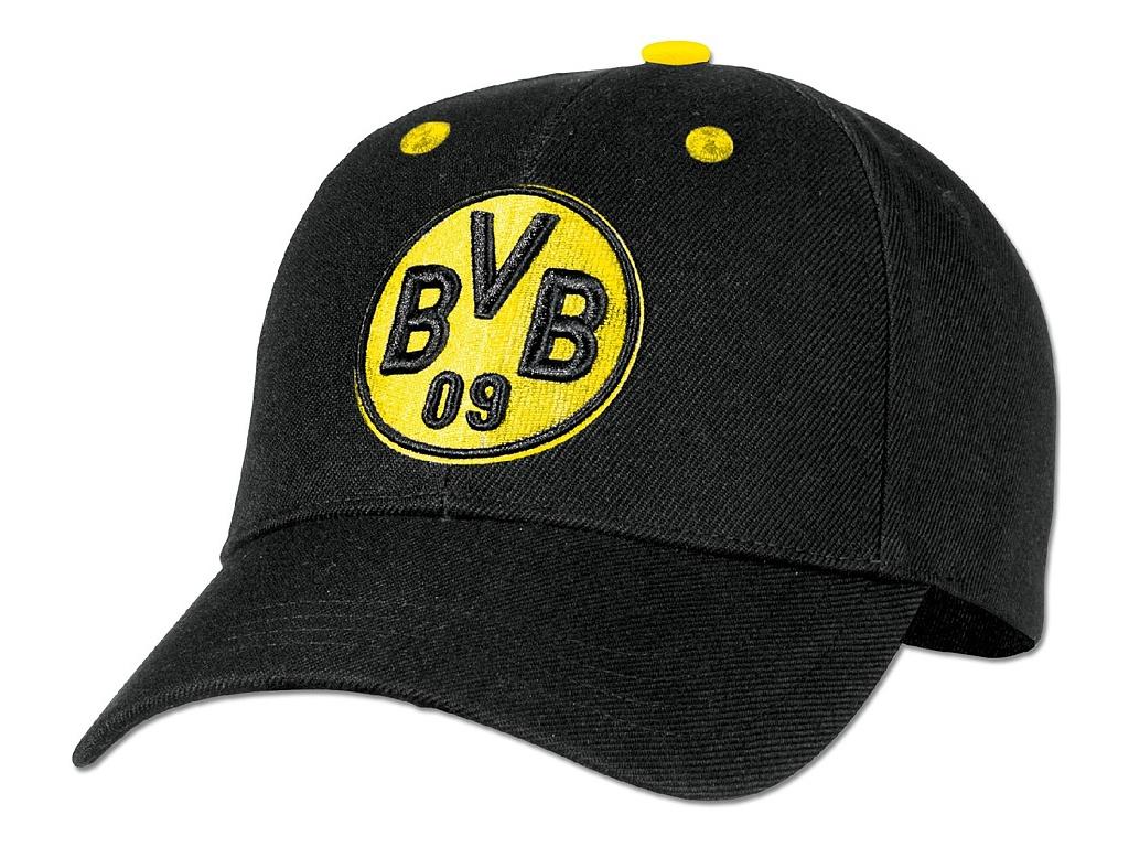 Kšiltovka Borussia Dortmund black