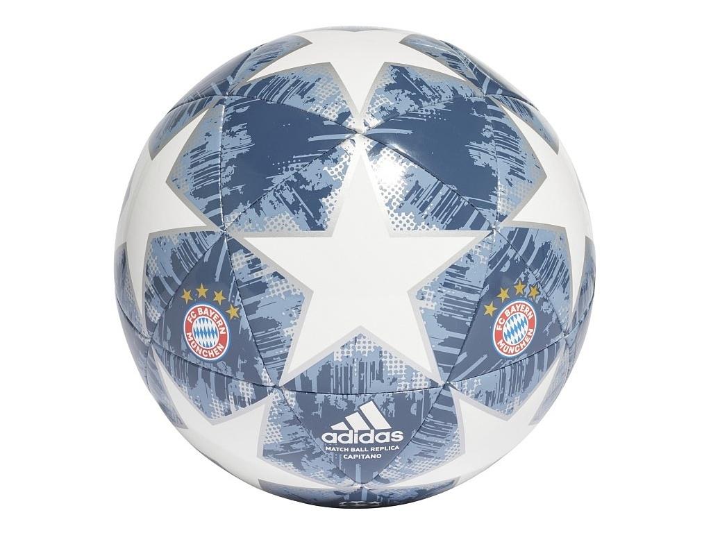 Fotbalový míč FC Bayern Mnichov 18/19 CPT silver